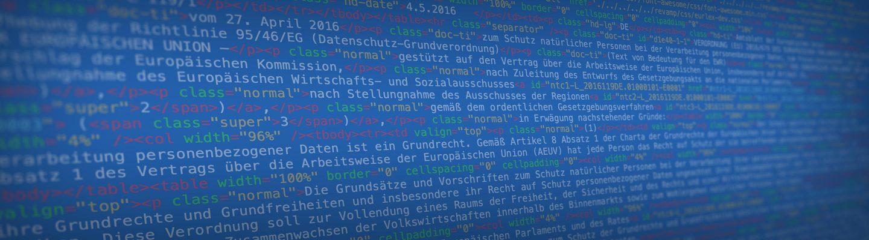 DSGVO HTML Quelltext